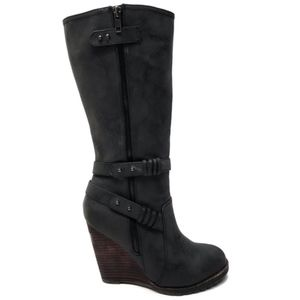 Shoes - VERY VOLATILE Tall Black Boots 6.5